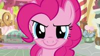 Pinkie Pie getting ready S2E18