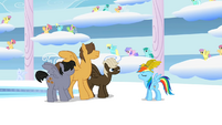 Rainbow is talking to Bullies S1E16