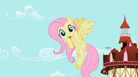 Fluttershy cannot believe she is a heroine S02E10