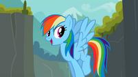"Rainbow Dash ""Through Ghastly Gorge"" S2E07"