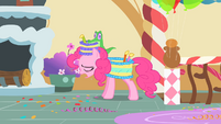 Pinkie Pie regrets doing singing telegrams S1E25
