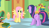 """Fluttershy """"somehow I become more popular"""" S1E20"""