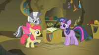 "Apple Bloom ""whenever Zecora comes to town"" S1E09"