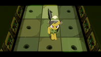 Daring Do dodging more spikes S02E16