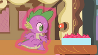 Spike being lifted by magic S2E03