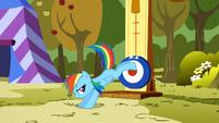 Rainbow Dash kicking S1E13