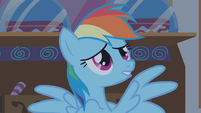 "Rainbow Dash ""the clouds move"" S1E09"