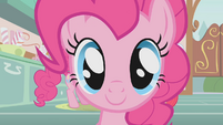 Close up of Pinkie Pie S1E12