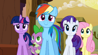 Relieved ponies S1E21