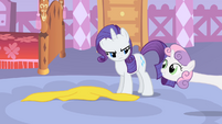 """Sweetie Belle """"Maybe I could just stand over here and watch"""" S1E17"""