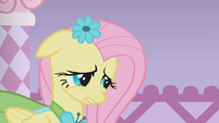 Fluttershy seems ashamed S1E14
