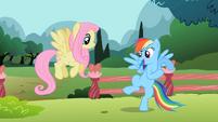Rainbow Dash 'I need something real fast...' S2E07