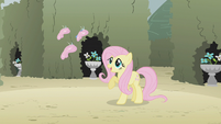 Fluttershy denies that her friends left her S2E01