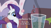 "Rarity ""I didn't know"" S2E05"