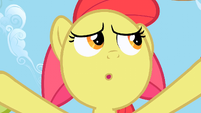 Apple Bloom's view of the Huddle S2E15