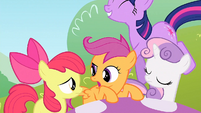 Scootaloo 'Let's get out of here' S1E23