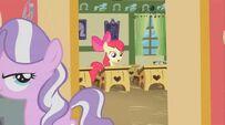 Diamond Tiara walks out of classroom S02E12