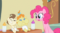 Pinkie Pie what's happening S2E13