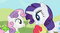 "Rarity and Sweetie Belle ""I did it for us"" S02E05"