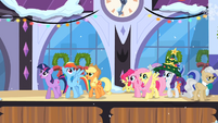 Main ponies in Canterlot S2E11