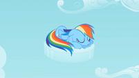 Rainbow Dash napping S02E06