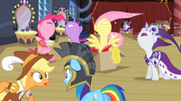 Ponies shouting S2E11