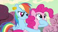 Rainbow Dash spill them! S2E14