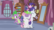 """Rarity and Sweetie Belle reconcile """"deal!"""" S02E05"""