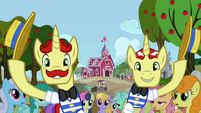 Flim Flam Brothers marching S2E15
