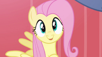 Fluttershy being cute and happy S2E19