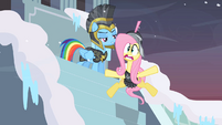 Private Pansy slipping on ice 2 S2E11