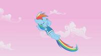 Rainbow Dash, we melt the white snow S1E11