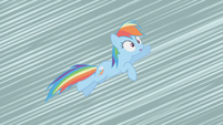 Rainbow Dash feels her wings disappear S2E01