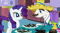 "Rarity's father ""you gonna eat that?"" S2E5"