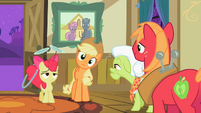 Apple Bloom looks exhausted S2E06