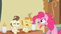 Pinkie Pie & babies making faces S02E13