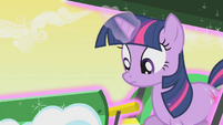 Twilight notices her plow pick up speed S1E11