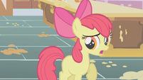 Apple Bloom talking quickly S1E12