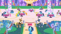 Wonderbolts VIP section S1E26