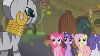Zecora confronts the ponies S1E09