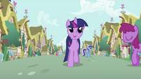 Twilight Sparkle trotting S2E03