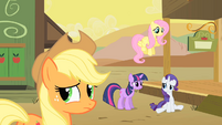 Rarity's entreaty is rejected S1E21