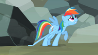 "Rainbow Dash ""I don't want"" S2E07"