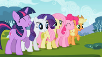 Ponies excited3 S02E07