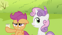 Sweetie Belle given a quill S2E03