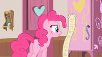 Pinkie Pie looking at list S2E13