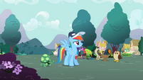 """Rainbow Dash """"Now these games"""" S2E07"""