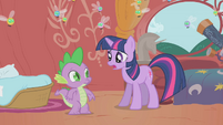 "Twilight ""the princess will be here in a few hours"" S1E10"
