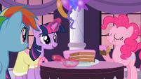 Main Cast eating cake S2E9