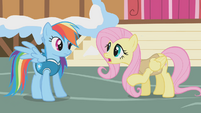 """Fluttershy """"you have to wake animals slowly"""" S1E11"""